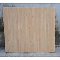 10 tấm xốp dán tường giả gỗ