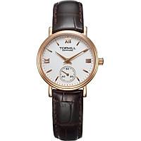 Đồng hồ nữ dây da Thụy Sĩ TA021L.PZ3297