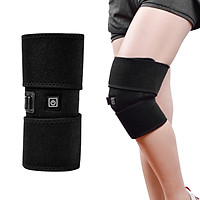 Heated Knee Brace Wrap Support Portable Infrared Knee Heating Pad for Pain Relief US Plug