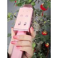 Micro kèm Loa Bluetooth H6 amoi mic hát karaoke
