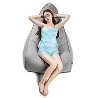 GHẾ LƯỜI ADIRA (Adira Indoor Beanbag Chair) CHẤT LIỆU VẢI NHẬP KHẨU MÀU XÁM - TARUJO