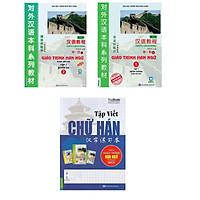 Combo Giáo trình Hán Ngữ Tập 1 Tập 2 , sách tập viết chữ Hán theo giáo trình Hán (tặng sổ tay mini dễ thương KZ)