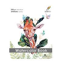 Tập Giấy Vẽ Màu Nước  ( Water Pad)