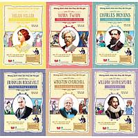 Combo Những Danh Nhân Làm Thay Đổi Thế Giới (6 cuốn) : Mark Twain Thiên Tài Kể Chuyện + Helen Keller Mạnh Mẽ Can Trường + Charles Dickens Nhà Văn Vĩ Đại + Franklin Roosevelt Tổng Thống Kỳ Cựu + Winston Churchill Thủ Tướng Đa Tài + William Shakespeare Vua Kịch