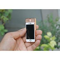 Bật Lửa Điện Iphone Mini 2 Đèn (đèn pin và đèn soi tiền giả)