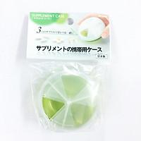 Hộp đựng thuốc loại tròn chia ngăn Nhật Bản