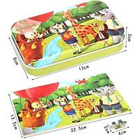 [Nhiều mẫu]Đồ chơi tranh ghép hình gỗ 60 chi tiết cao cấp - đồ chơi phát triển trí tuệ cho bé