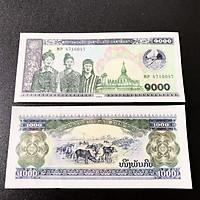 Tờ lưu niệm hình con Trâu ở Lào, dùng để lì xì, sưu tầm, lưu niệm, trang trí trong nhà dịp Tết Tân Sửu 2021 - SP005019