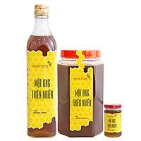 Combo Thực Phẩm Chức Năng Mật Ong Thiên Nhiên Honeyboy (500ml) Và Mật Ong Thiên Nhiên Honeyboy (1kg) - Tặng Mật Ong Thiên Nhiên Honeyboy (100ml)