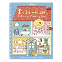 Sách tô màu Doll's House Sticker And Colouring Book
