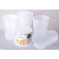 Bộ 4 cốc uống nước màu trắng Nhật Bản kèm hộp