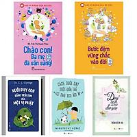 Combo chào con ba mẹ đã sẵn sàng +bước đệm vững chắc vào đời+ nuôi dạy con bằng trái tim của một vị Phật+cách nuôi dạy một đứa trẻ có tái tim ấm áp+dạy con đoi khi thật đơn giản(bản đặc biệt tặng kèm bookmark AHA)