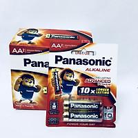 Hộp pin (12 vỉ 2 viên) pin Kiềm Alkaline Panasonic AA LR6T/2B-Hàng chính hãng