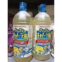 Combo 2 chai dầu Ăn Hoa Cải Ajinomoto (1000g) - Bổ Sung Omega 3 & 6 Nhật Bản