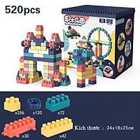 Bộ Lego 520 chi tiết xếp hình sáng tạo cho trẻ trên 3 tuổi