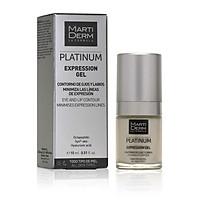 Gel Dưỡng Làm Đầy Rãnh, Giảm Nhăn Đuôi Mắt & Khóe Miệng - MartiDerm Platinum Expression Gel (15ml)