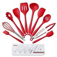 Bộ 10 dụng cụ nhà bếp silicon đúc tiện dụng