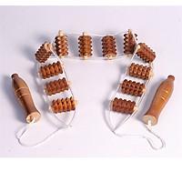 Bàn lăn gỗ massage lưng gai