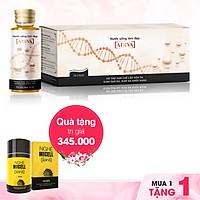 Nước uống làm đẹp Collagen ADIVA (14 lọ/hộp) - Tặng Nghệ Micell ADIVA (lọ 14 viên)
