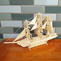 Đồ chơi lắp ráp gỗ 3D Mô hình Thuyền buồm European Sailing Boat
