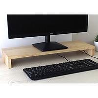 Kệ Đỡ Màng Hình Gỗ – Gía Đỡ Màng Hình Đa Năng – Wood Monitor Stand