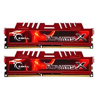 Bộ 2 Thanh RAM PC G.Skill F3-17000CL11D-8GBXL RipjawsX 4GB DDR3 2133MHz UDIMM XMP - Hàng Chính Hãng