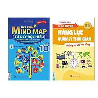 Combo 2 Học tốt ngữ văn lớp 10: Đột Phá Mindmap - Tư Duy Đọc Hiểu Môn Ngữ Văn Bằng Hình Ảnh Lớp 10 + Rèn luyện năng lực tự học (tặng sổ tay bí kíp)