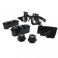 Kính lúp đeo mắt có đèn M2 zoom (10X-15X-20X-25X)