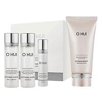 Bộ làm sạch dưỡng trắng OHUI Extreme Bright Foam 160ml và Mini Kit 43ml