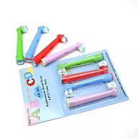 Bộ 4 đầu bàn chải trẻ em cho máy đánh răng Braun Oral B - Xuất xứ Anh