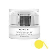Kem Dưỡng Trắng Vùng Mắt Organique Whitening Eye Cream (20ml) - Tặng Kèm Mút Rửa Mặt