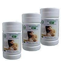 3 Hộp Thực phẩm X5PLUS bột dinh dưỡng lợi sữa dành cho mẹ