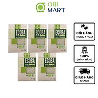 Combo 5 Gạo Hữu Cơ Ecoba Ngọc Mễ - Ecoba Organic Jasmine Rice 1kg