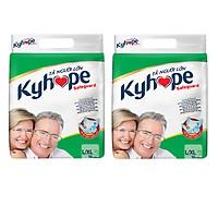 2 Gói Tã Dán Kyhope Safeguard L10