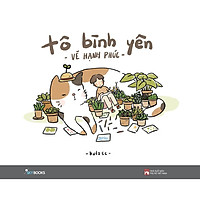 Sách - Tô Bình Yên - Vẽ Hạnh Phúc ( tặng kèm bookmark Thiết kế )