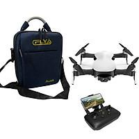 Flycam C-Fly Faith 4K gimbal 3 trục chống rung (Trắng)- Hàng Chính Hãng