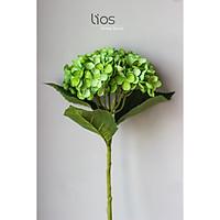 Cành hoa giả decor/ trang trí- Hoa cẩm tú cầu- HOA01