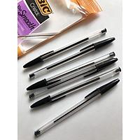 6 bút bi Bic pen tapping thân trong Cristal
