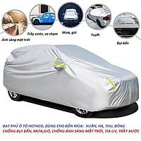 Bạt phủ ô tô chống nóng 3 lớp cao cấp -Tráng nhôm cách nhiệt-Dùng cho các loại xe hơi và  ô tô
