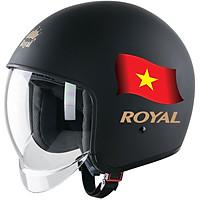 Nón bảo hiểm 3/4 đầu Royal M139 Design Cờ Việt Nam