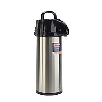 Phích bơm nước cao cấp Rạng Đông Model 2545ST1.E - Chính hãng, thân inox, vai nhựa, dạng cần bơm, dung tích 2.5 lít