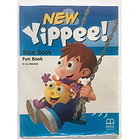 New Yippee Blue Book Funbook + CD