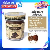 Bột Đắp Mặt Cafe Nguyên Chất UMIHOME (125g) Bột tắm trắng da, loại bỏ mụn, thâm nám tàng nhang, chống lão hoá dưỡng da hiệu quả