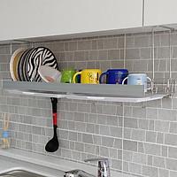 Kệ chén bát đũa đĩa, kệ treo tủ bếp, kệ chén treo 1 tầng Inox 304 - ALC (A) DaiJin