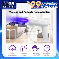 Máy phun nano di động phun khử trùng có thể sạc lại cầm tay Handheld Rechargeable Nano Steam Atomizer 300ml