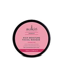 Mặt Nạ Siêu Dưỡng Ẩm Sukin Rosehip Rich Moisture Facial Masque 100ml
