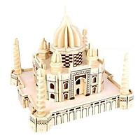Bộ xếp hình 3D gỗ -Ngôi đền tình yêu Taj Mahal