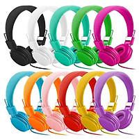 Kids Wired Ear Headphones Stylish Headband Earphones for iPad Tablet