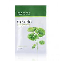 Mặt nạ dưỡng ẩm, làm trắng và mờ thâm sẹo  Beauskin Cica Centella Sheet Mask 30ml - Hàn Quốc Chính Hãng