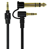 3.5mm To 3.5/6.5mm Replacement Stereo Audio Cable Wire Cord Adapter for Beats Edition PRO DETOX Solo HD Mixr Headphones